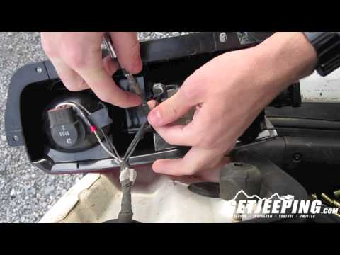 How to: Remove and install rear tail light on a 1997 to 2001 Jeep Cherokee XJ - Getjeeping