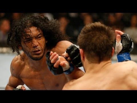 Benson Henderson stops Josh Thomson in UFC bout