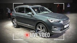 SEAT Tarraco, il SUV 7 posti visto dal vivo