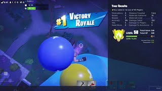 Fortnite Player's 331st Zero Kill Battle Royale Victory Without Using Weapons or Materials - J367