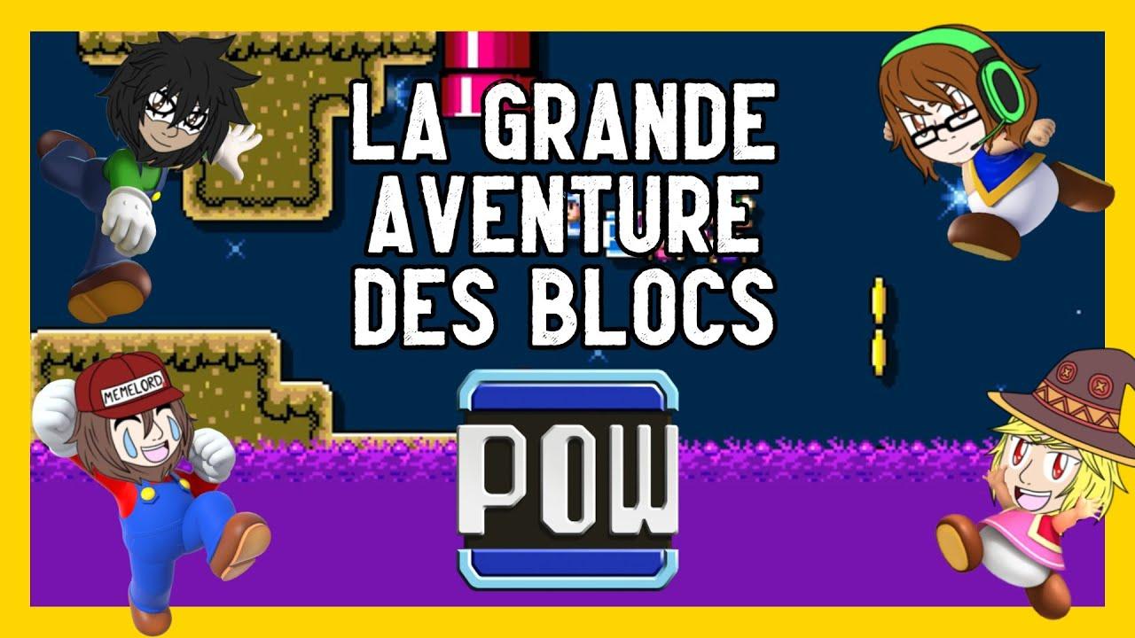Super Mario Maker 2 : La grande aventure des blocs POW !