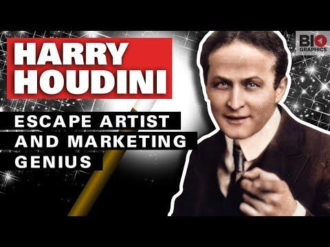 Harry Houdini – Escape Artist and Marketing Genius