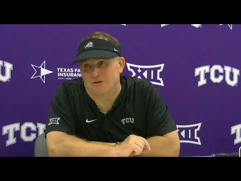 TCU HC Gary Patterson discusses Frogs' 42-12 win over SMU