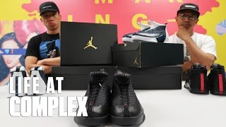 MAKING THE AIR JORDAN 15'S STYLISH AGAIN! | #LIFEATCOMPLEX