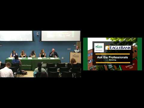 Ask the Professionals: Marketing | George Mason University
