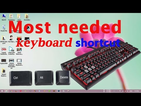 Most needed keyboard shortcut for windows