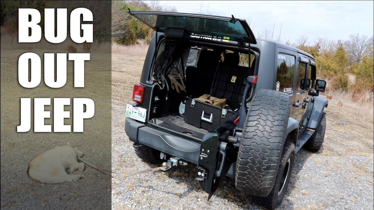 My Bug Out Jeep Progress Report Trunk Gear Amp Storage