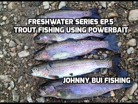 Pa trout fishing using powerbait freshwater series ep 5 for Trout fishing with powerbait