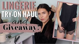 SLEEPWEAR & LINGERIE TRY-ON HAUL + HUGE GIVEAWAY! - A YEAR OF GIVEAWAYS - February 2018 Giveaway
