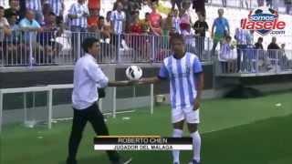 Roberto Chen en exclusiva habla sobre su experiencia en Málaga CF