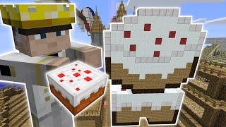 Minecraft: THE CAKE SHOP CHALLENGE - Custom Mod Challenge [S8E18]