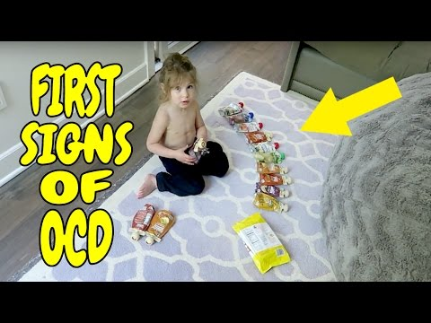 FIRST SIGNS OF OCD