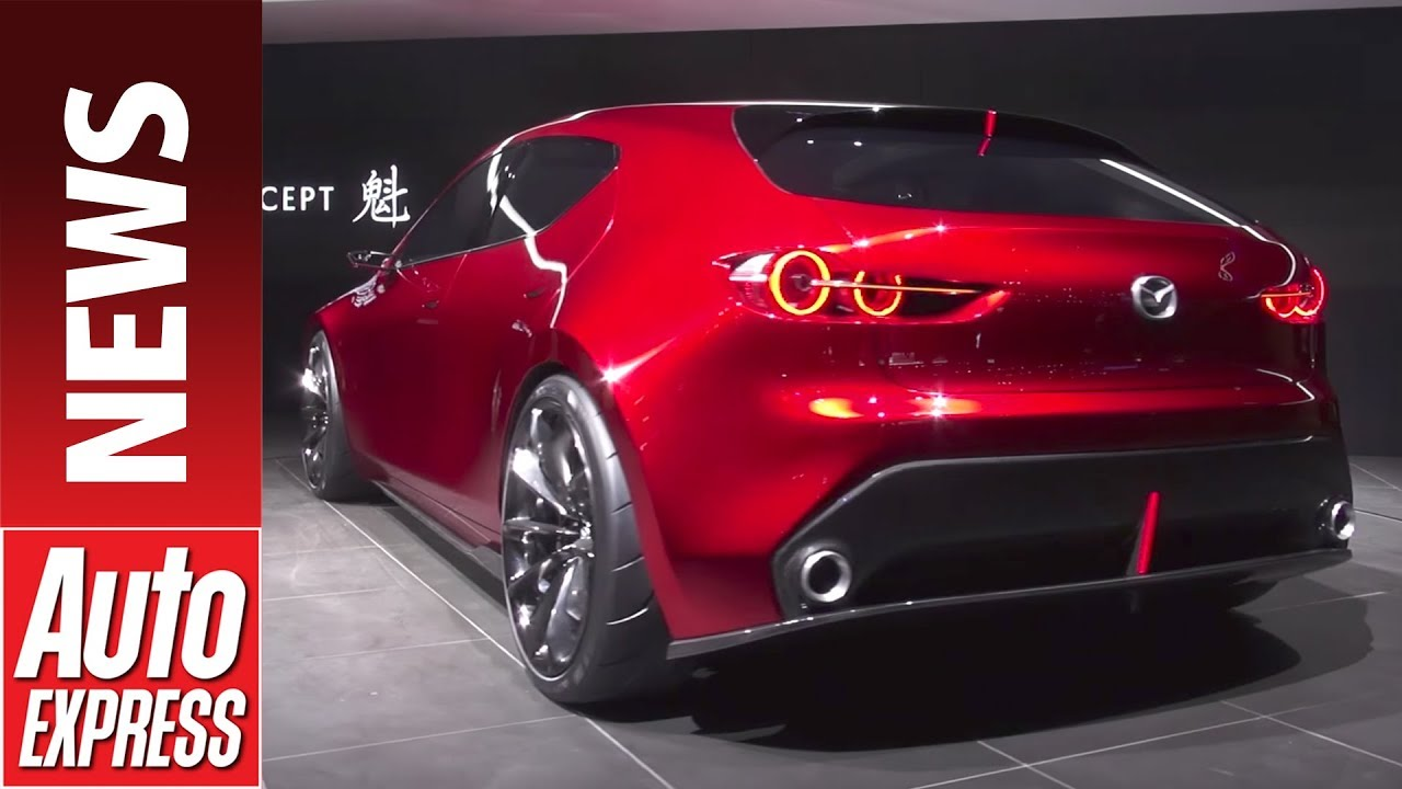 Mazda 3 Awd >> Mazda KAI concept previews 2019 Mazda 3 at Tokyo - YouTube
