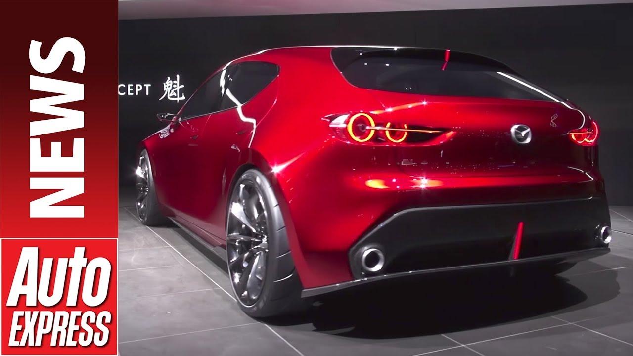 Mazda 3 Axela 2017 >> Mazda KAI concept previews 2019 Mazda 3 at Tokyo - YouTube
