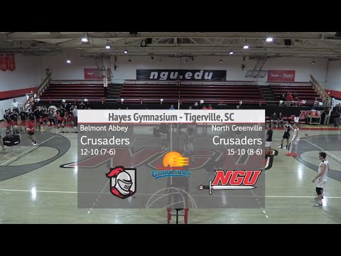 NGU Men's Volleyball 2019 - North Greenville vs. Belmont Abbey College