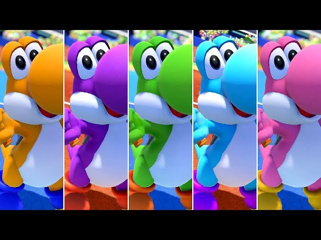 Mario Tennis Aces - All Yoshi Ring Challenges