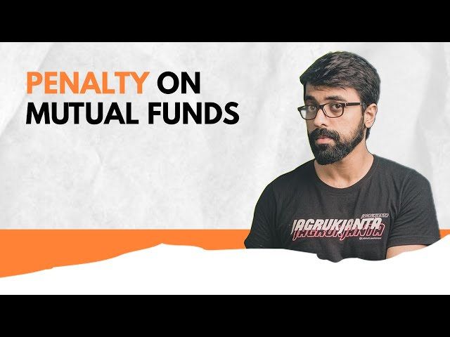 Reality of Exit Load in Mutual Funds   #shorts