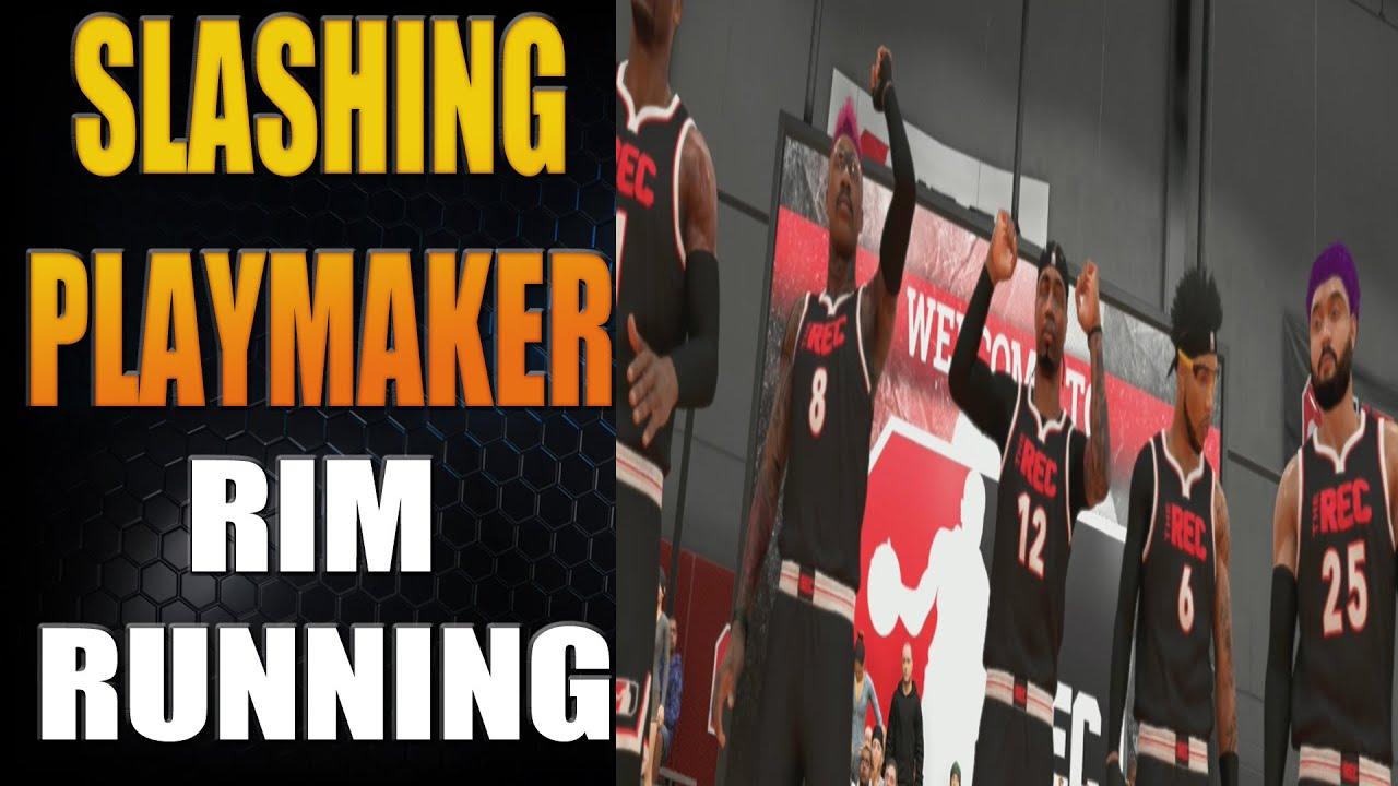 Slashing Playmaker Rim Running and HOF Dimer | NBA 2K20