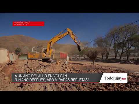 Guillermo Lobo a un año del alud de Volcán: Un año después