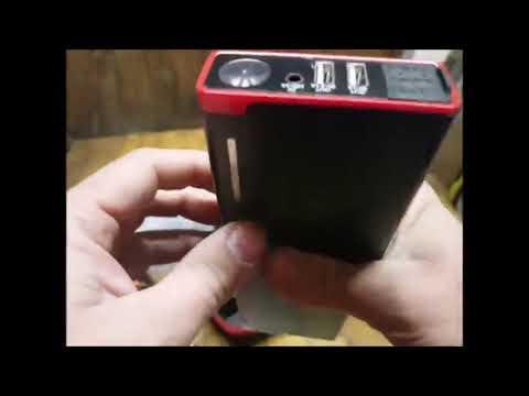 GREPRO Démarrage De Voiture Booster Batterie 1000A 18000mAh Portable Jump Starter