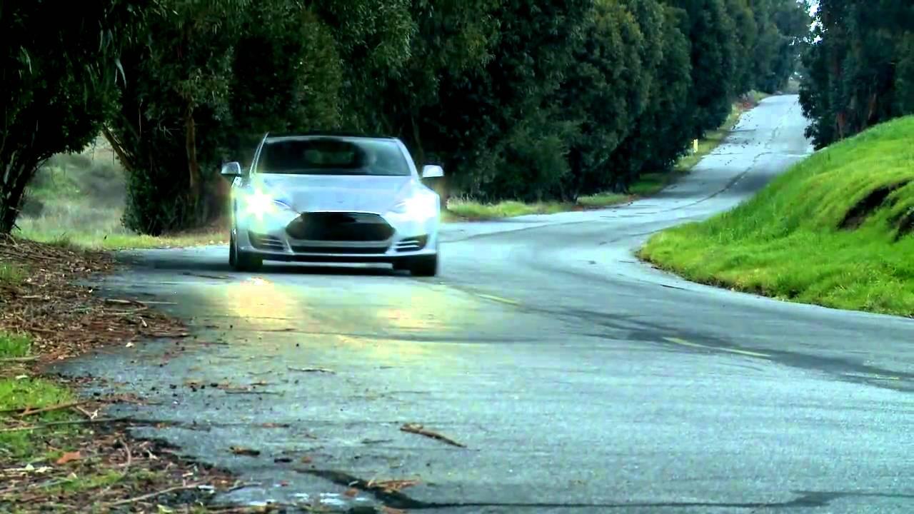 Model S Alpha Hits the Road