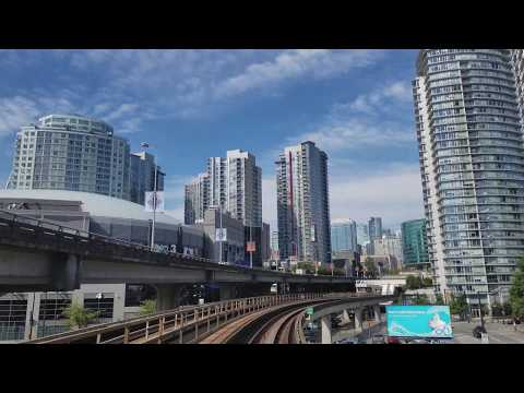 Vancouver SKYTRAIN: A SUMMER RIDE WITH MUSIC (I need a break from the constant rain these days...)