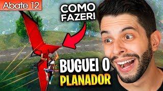 BUGUEI O NOVO PLANADOR DE UM JEITO INACREDITÁVEL NO FREE FIRE!!!
