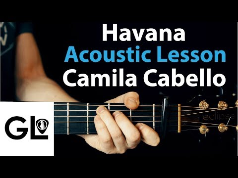 Havana oo na na - Camila Cabello Acoustic Guitar Lesson, Easy Beginner Chords