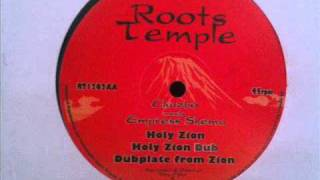 "Chazbo meets Empress Shema - Holy Zion + dub 1 & 2 (Roots Temple 12"")"