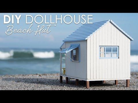 "DIY Dollhouse Kit Miniature Beach House ""Happiness Coast"""