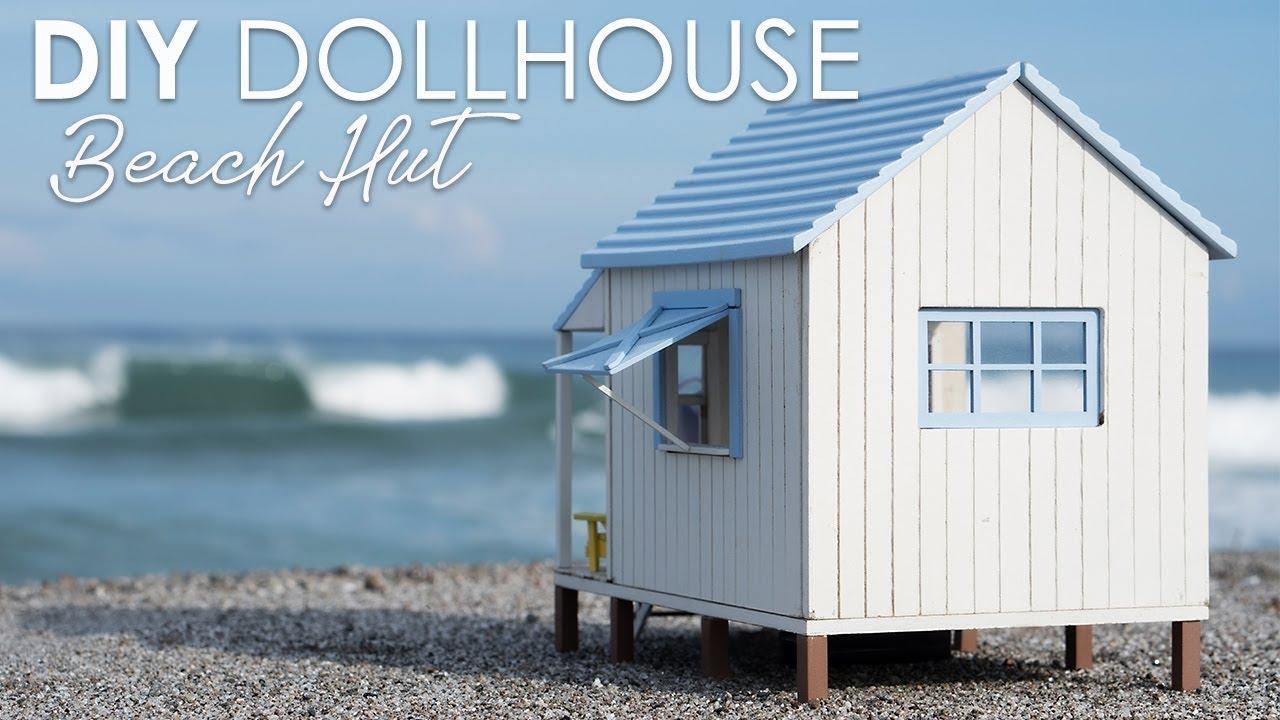 diy miniature beach dollhouse kit