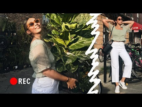 PLANT SHOPPING FOR NYC APARTMENT + MERCH UNVEILING!!!