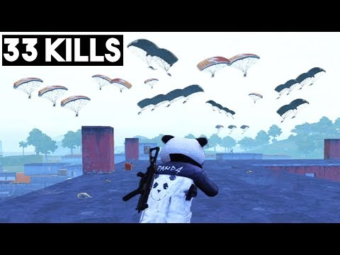 YOU WILL NOT BELIEVE THIS LANDING | 33 KILLS Duo vs SQUAD | PUBG Mobile