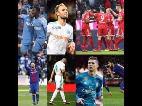Le débrief -  Bayern Juventus Inter Real Madrid Barça Monaco et Marseille
