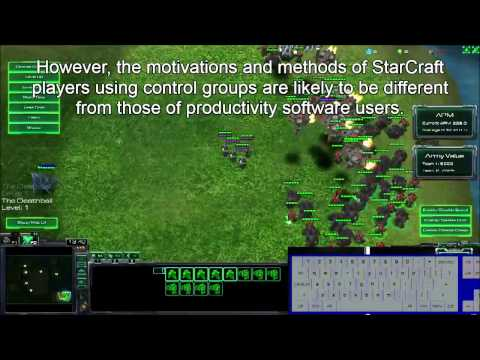 Masters of Control: Behavioral Patterns of Simultaneous Unit Group Manipulation in StarCraft 2