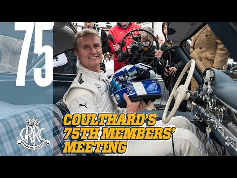 David Coulthard drives $1M Mercedes 300SL at 75MM
