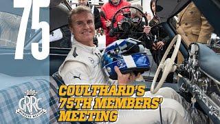 David Coulthard drives $1M Mercedes 300SL at 75MM