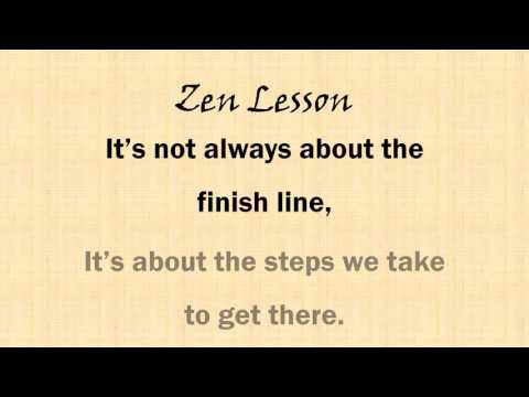 Lessons From The Zen Builder