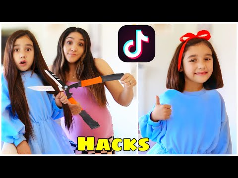 We TESTED Viral TikTok Life Hacks... *THEY WORKED* (Part 4)   Jancy Family