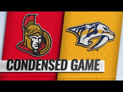 12/11/18 Extended Highlights: Senators @ Predators