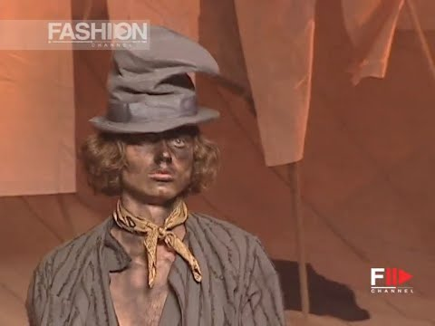 JOHN GALLIANO Full Show Spring Summer 2006 Menswear Paris by Fashion Channel