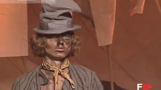JOHN GALLIANO Full Show Spring Summer 2006 Menswear Paris by Fashion Channel