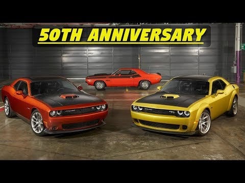 2020 Dodge Challenger 50th Anniversary Edition - Just 1,960 Made (New Colors & Features!)