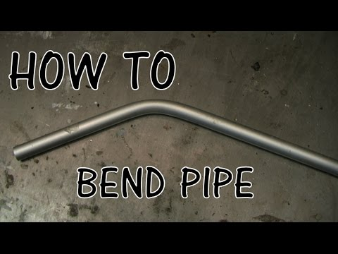 How to bend aluminum pipe EASY, FAST
