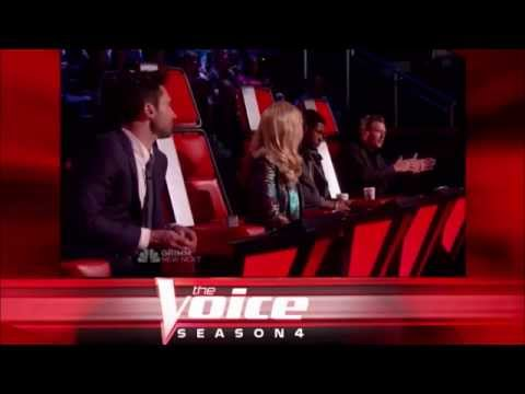 "Michelle Chamuel: ""Raise Your Glass"" - The Voice S04 Knockout Round"