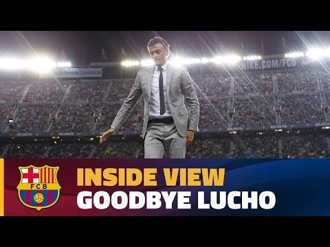 [BEHIND THE SCENES] Luis Enrique's final game at Camp Nou as FC Barcelona's coach