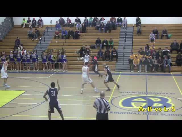Acton Boxborough Varsity Boys Basketball vs Lincoln Sudbury 1/13/14