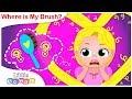 Where is my Brush? | Princess Songs| Nursery Rhymes by Little Angel
