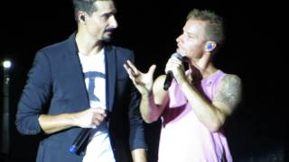 Backstreet Boys Cruise 2014 - Group B Concert - Brian messing up what song they are on & Up in Here