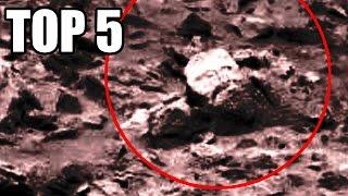 TOP 5 - Nejzáhadnějších fotografií z Marsu